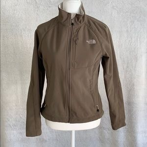 Light brown North Face